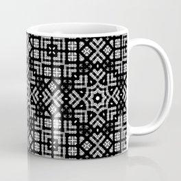 Black and white geometric pattern. 022 Coffee Mug