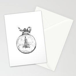 Christmas Bauble Stationery Cards