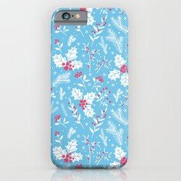 Winter flora 2 iPhone Case
