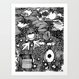 Planet Shooz | Limited Edition of 50 Prints Art Print