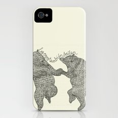 bears do dance! Slim Case iPhone (4, 4s)