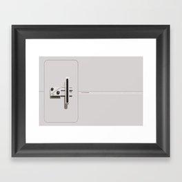 Baseline Test Framed Art Print