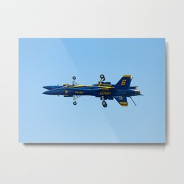 Blue Angels Fortus Pass Metal Print