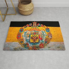Russian Empire Flag Rug