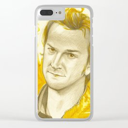 Hellooo Tricksterrr Clear iPhone Case