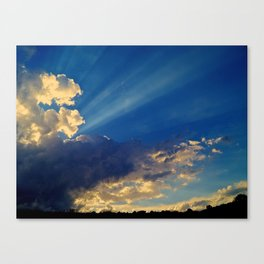 Skylights Canvas Print