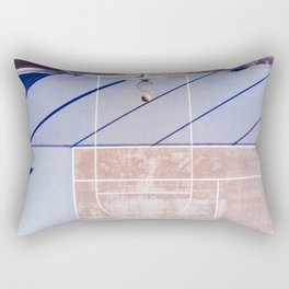basketball court 3 Rectangular Pillow