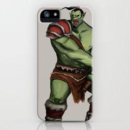 Green Warrior iPhone Case