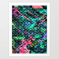 quilt Art Prints featuring Quilt by Simona Sacchi