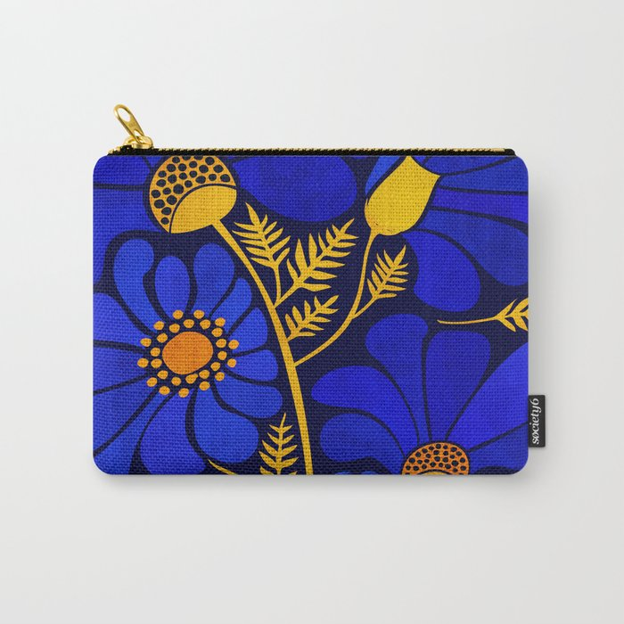 Wildflower Garden Carry-All Pouch