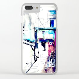 Home country Clear iPhone Case