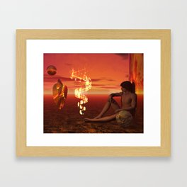 This Place I Am In Framed Art Print