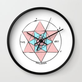 This is Art Sacred G Wall Clock