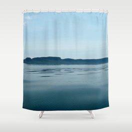 The Sleeping Giant Shower Curtain