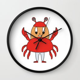 Crab Egg Wall Clock
