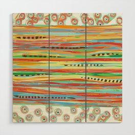 stripes & striped Wood Wall Art