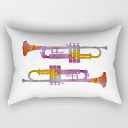 Trumpets Rectangular Pillow