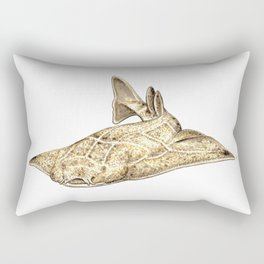 Angel shark Rectangular Pillow