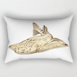 Angel shark Rectangular Pillow