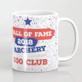 ARCHERY HALL OF FAME 300 CLUB 2018 Coffee Mug