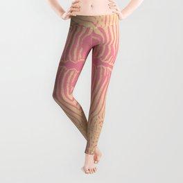 PINK ZEBRA & BLACK GAZELLE Leggings