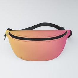 Pink Orange Gradient Fanny Pack