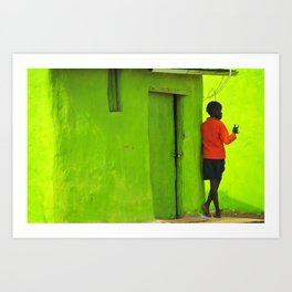 Green House Art Print