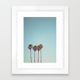 Vacation Feelings Framed Art Print