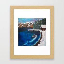 Lake Tahoe Framed Art Print