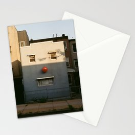 House With Face - Pareidolia Stationery Cards