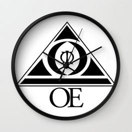 (OE) Overcome Everything Wall Clock