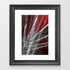 Liquid Silver Framed Art Print