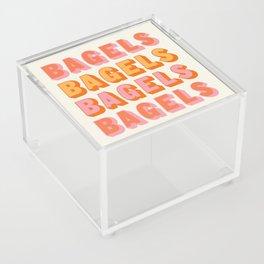 BAGELS BAGELS BAGELS Acrylic Box
