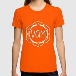 Vam—Sacral Chakra Mantra T-shirt