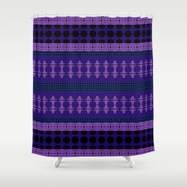 Roseheads Clovers Shower Curtain