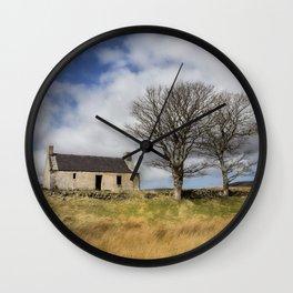 Highland Cottage. Wall Clock