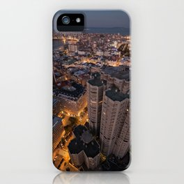 The streets are glowing iPhone Case