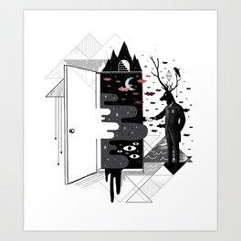 Take it or dream it Art Print