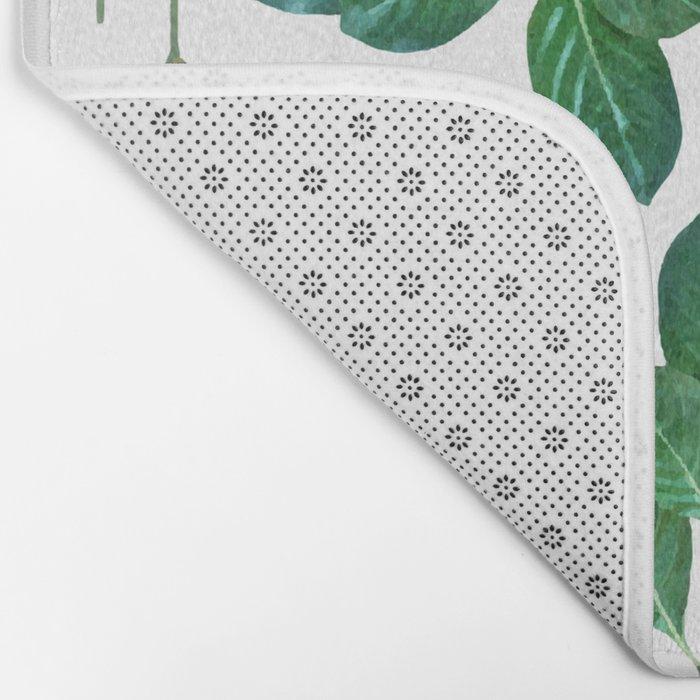 Lemon Leaf #society6 #decor #buyart Bath Mat