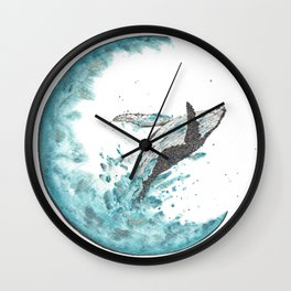 Sea Moonlight Wall Clock