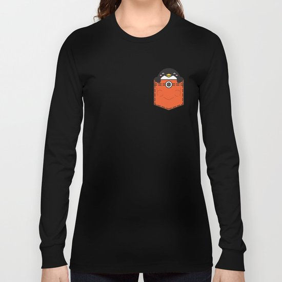 Pocket Penguin Long Sleeve T-shirt