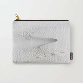 Snake - Abstract Designs in White Sands Desert in New Mexico Carry-All Pouch