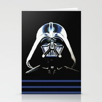 vader Stationery Cards featuring VADER by Aoife Rooney Art