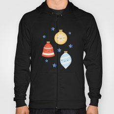 Merry Christmas! Jolly Stars, Baubles & Bells Hoody