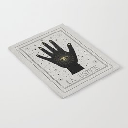 La Justice or The Justice Tarot Notebook