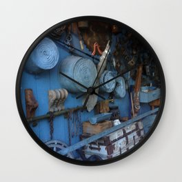 Blue Americana Collection Wall Clock