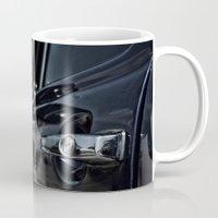 volkswagen Mugs featuring volkswagen turtle by gzm_guvenc