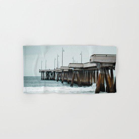Venice Pier  Hand & Bath Towel