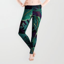 Leaves Tropical Leggings