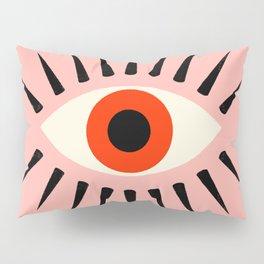 Red Eye Pillow Sham